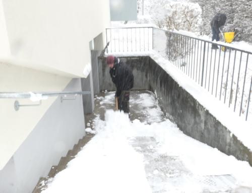 Schneeräumung Firmen und Wohnanlagen