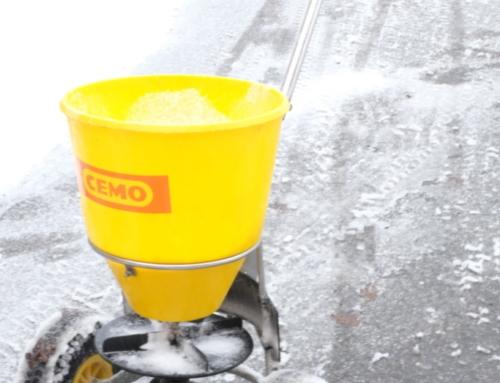 Salz streuen Firmen und Wohnanlagen